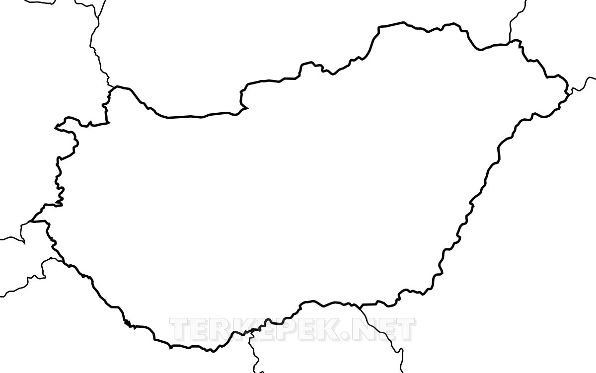 magyarország megyéi térkép vaktérkép Magyarország vaktérkép magyarország megyéi térkép vaktérkép
